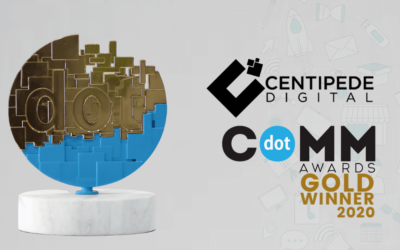 Centipede Digital Wins 2020 dotCOMM Award